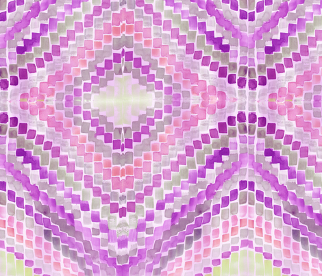 Paintbrush tips in magenta fabric by saffron-craig on Spoonflower - custom fabric