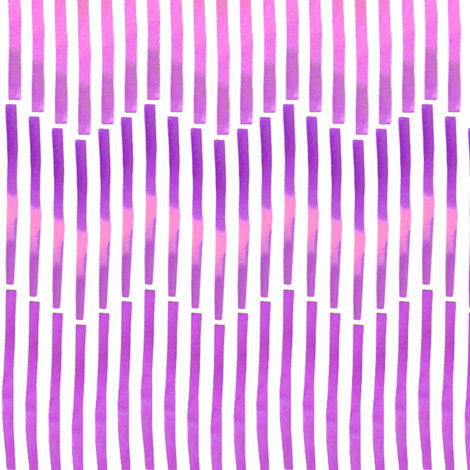 Granada Chevron_aubergine fabric by bee&lotus on Spoonflower - custom fabric