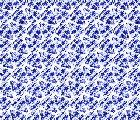 Tasmanian Tiger - Fern Stripes fabric by taffyandtwine on Spoonflower - custom fabric