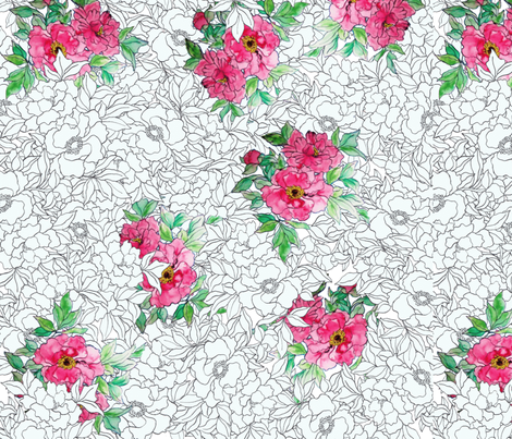 peonypops fabric by trillias on Spoonflower - custom fabric