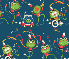 It's the Frog Parade!