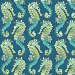 seahorses on parade
