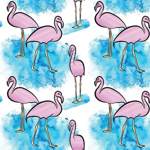 Colourbook Studio: Flamingo