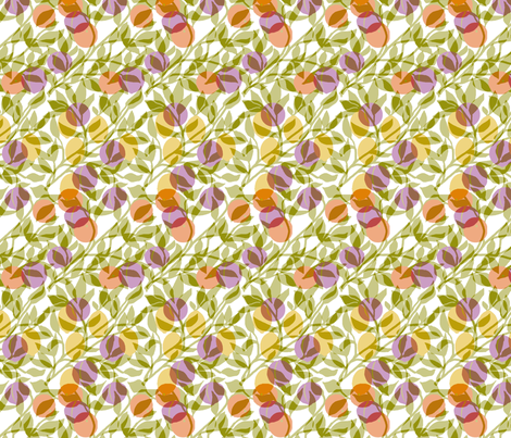 fruity_transparent_pale fabric by lfntextiles on Spoonflower - custom fabric