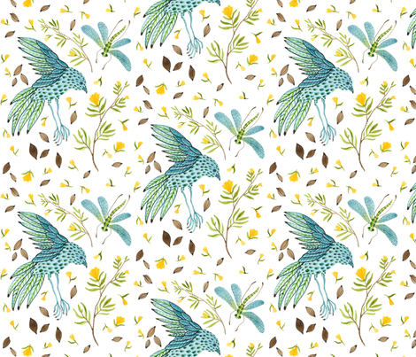 Frolic - Frolic Collection fabric by gollybard on Spoonflower - custom fabric