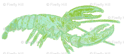 Blue/Green Lobster
