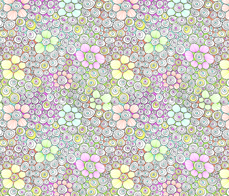 Dogwood Spring  fabric by karencraig on Spoonflower - custom fabric
