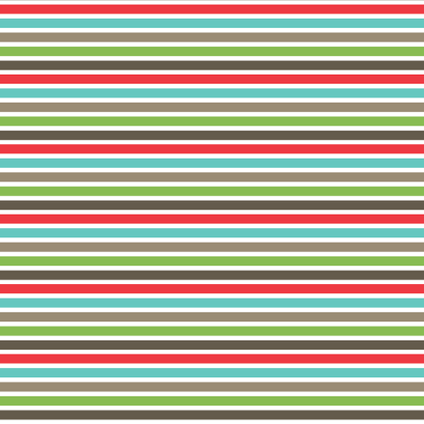 snail garden stripes (bright)