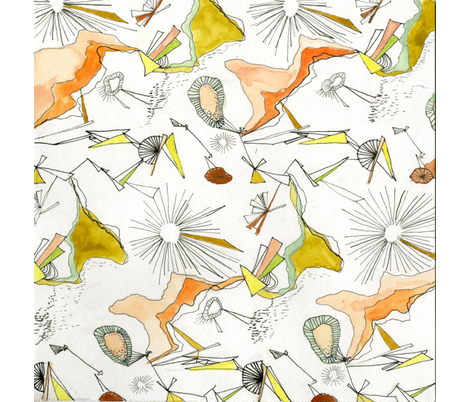 Geo fabric by jamiecrawford on Spoonflower - custom fabric