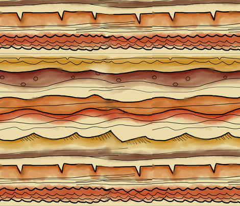 It's Sedimentary fabric by pixelmech on Spoonflower - custom fabric