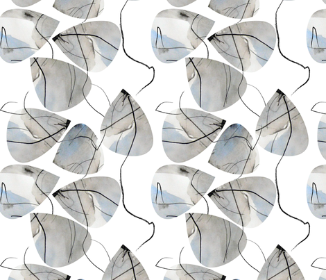 sea stone fabric by maison-rosemonde on Spoonflower - custom fabric