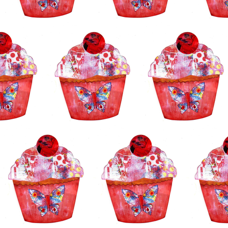 Cupcakery fabric by tanyamac on Spoonflower - custom fabric