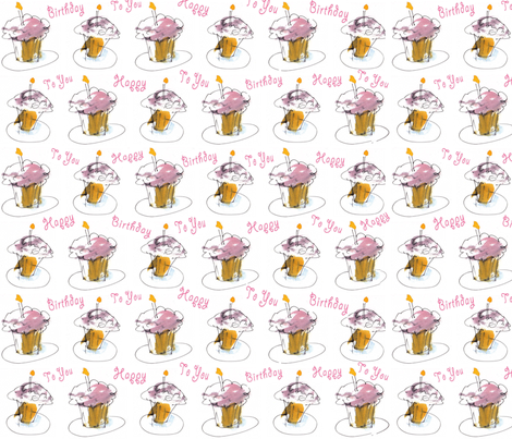 Birthday Wishes fabric by macdesign on Spoonflower - custom fabric