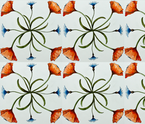 Country Rhythm fabric by _pam_wilkinson_ on Spoonflower - custom fabric