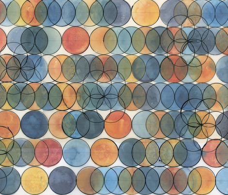 Rebecca_Rendon_circles_2 fabric by rrendon on Spoonflower - custom fabric