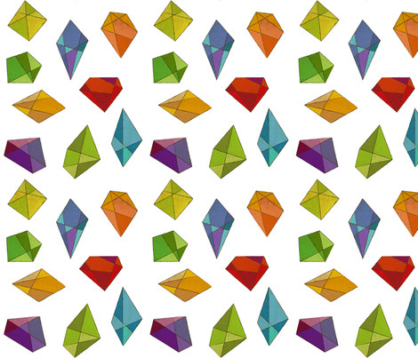 Infinite Jewels fabric by jenimp on Spoonflower - custom fabric