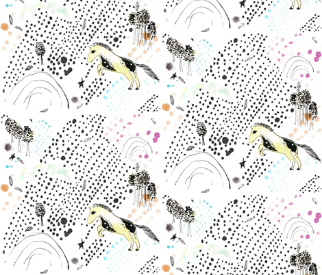 Sweet Leap fabric by ashesashes on Spoonflower - custom fabric