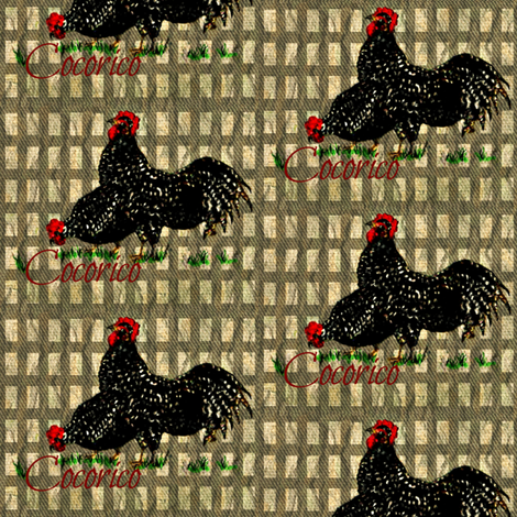 French Birds fabric by paragonstudios on Spoonflower - custom fabric