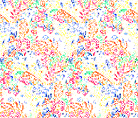 color ramblings fabric by puffin98 on Spoonflower - custom fabric
