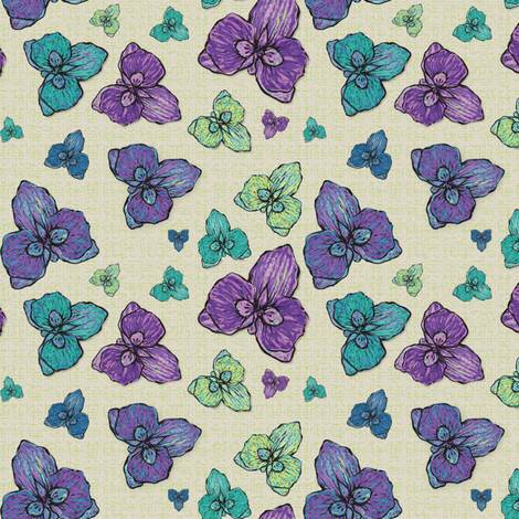 orchid_contest_3 fabric by wendyg on Spoonflower - custom fabric