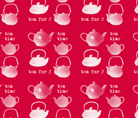 teatime fabric by suziwollman on Spoonflower - custom fabric