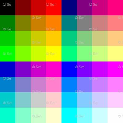 comic palette
