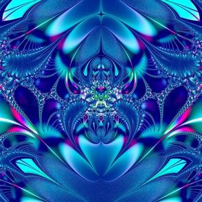 Blue Elegance Fractal