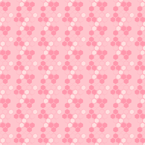 Pink Honey fabric by joybucket on Spoonflower - custom fabric