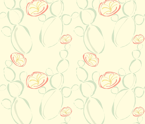 Cactus Flower fabric by anna_gregory on Spoonflower - custom fabric