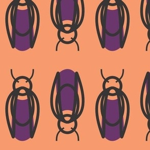 Purple Beetle Bugs