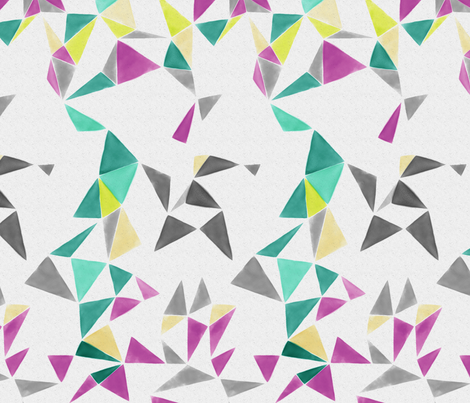triangle FACETS - white space