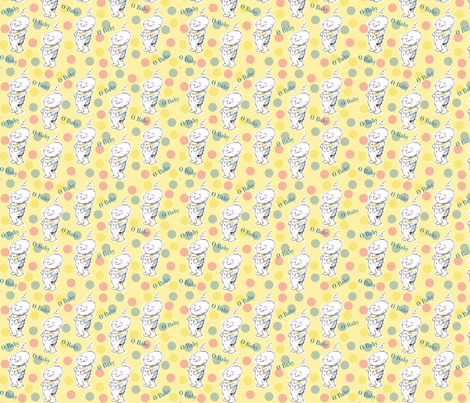Baby Dots fabric by macdesign on Spoonflower - custom fabric