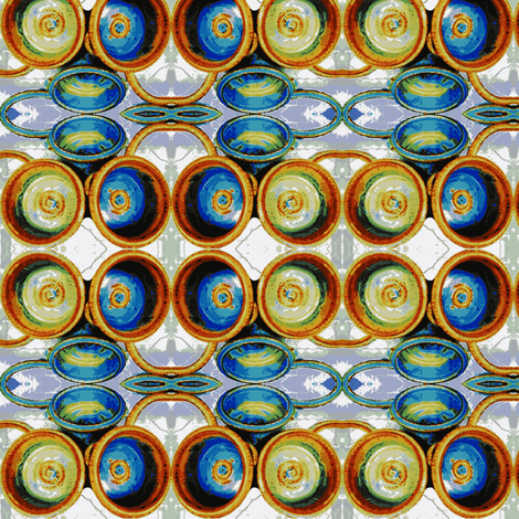 Norma's Timeless Pottery fabric by robin_rice on Spoonflower - custom fabric