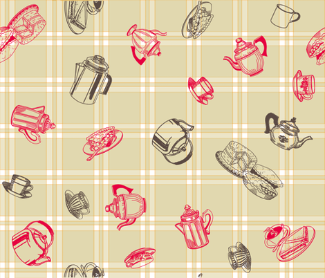 Kitsh_Kloth fabric by vita_musacchia on Spoonflower - custom fabric