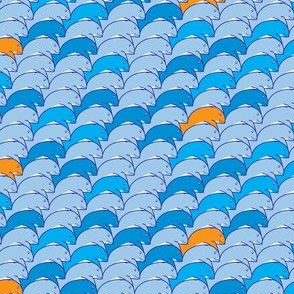 Tessellating whales