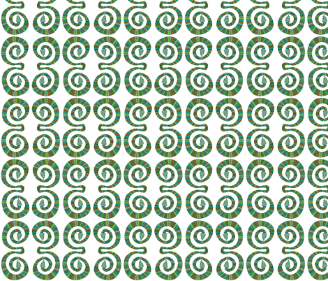 Snakes fabric by jojodi on Spoonflower - custom fabric