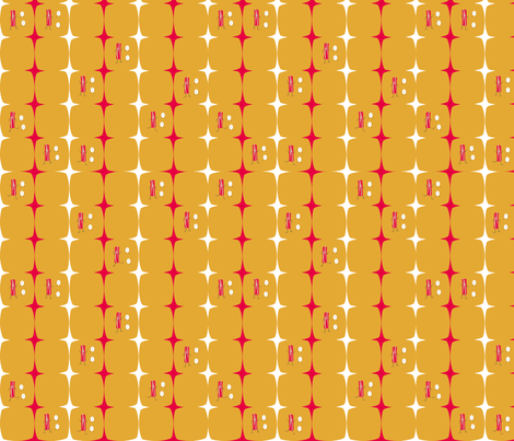 Dancing Bacon & Eggs fabric by sage_quinn on Spoonflower - custom fabric