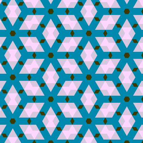 Van Speyk Blue fabric by stoflab on Spoonflower - custom fabric