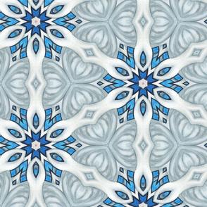 Blue Grey Flowers