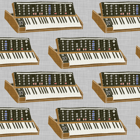 moog - color fabric by maker_maker on Spoonflower - custom fabric
