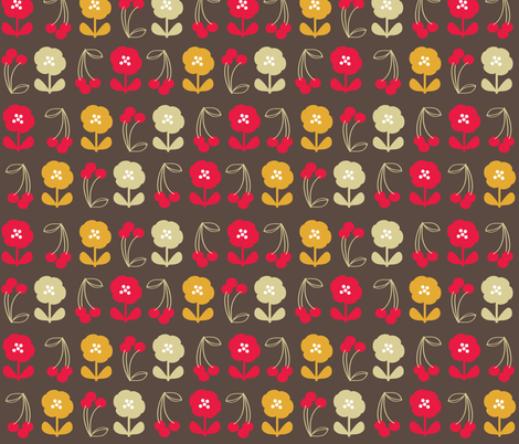 retro-kitchen-40s fabric by owlandchickadee on Spoonflower - custom fabric