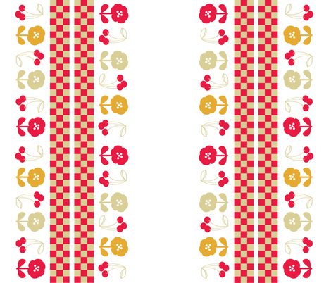retro-kitchen-40s-7 fabric by owlandchickadee on Spoonflower - custom fabric