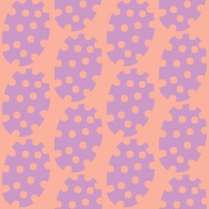 Spotty Dot (grape &amp; tangerine)