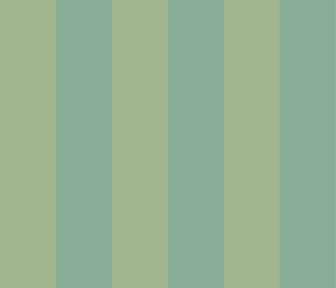 Blue and green canopy stripe