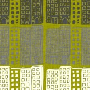 City - olive
