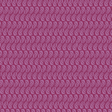 hornswaggled in pink fabric by glimmericks on Spoonflower - custom fabric
