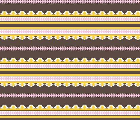 Rrrnavajo_stripes_darkbrown_pink_and_yellow_shop_preview