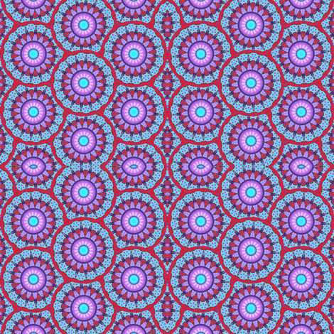 Flower Power 4 fabric by dovetail_designs on Spoonflower - custom fabric