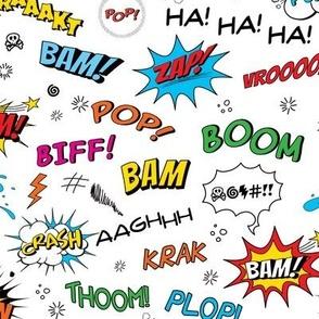 Comic Adventures: Comic Book Sound Effects