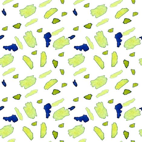 cestlaviv_daisy leaves fabric by cest_la_viv on Spoonflower - custom fabric